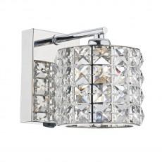 Dar Lighting Agneta 1 Light Polished Chrome Wall Bracket