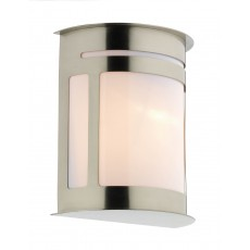 Dar  Alumni with Lantern Stainless Steel IP44