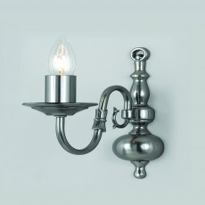 Impex Flemish Wall Light Pewter