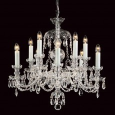 Impex Frydek Lead Crys 5+5 Light Chandelier