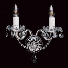 Impex Bela Lead Crystal Wall Light
