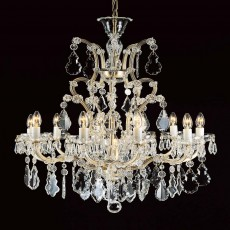 Impex Misto Crystal 10+1 M.Theresa Pendant Light