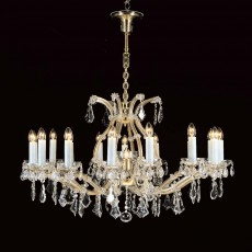 Impex Karlova Crystal 16+1 M.Theresa Chandelier