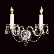 Impex Teplice Crystal 2 Light Wall Light