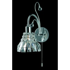 Impex Strasbourg Lead Crys Wall Light Ch