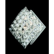 Impex Diamond Sq. Crystal Wall Light