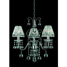 Impex Perpignan Lead Pendant Light Crys 3 Light