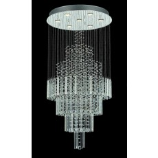 Impex Barcelona Trad. 7 Light Chrome Pendant Light