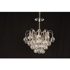 Impex Emmie 2 Light Crystal Ch