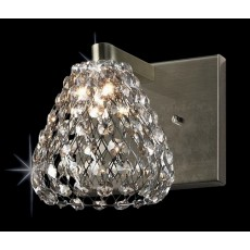 Impex Simone 1 Light Wall Light G9 Ant.Brass