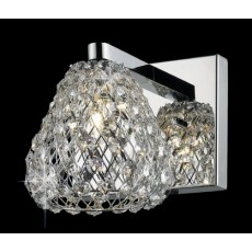 Impex Simone 1 Light Wall Light G9 Chrome