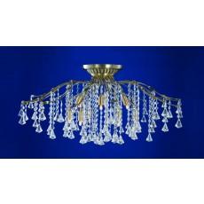 Impex Treviso 12 Light Pendant Light Antique Brass