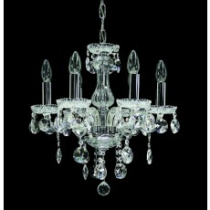 Impex Venice Lead Crystal Chandelier