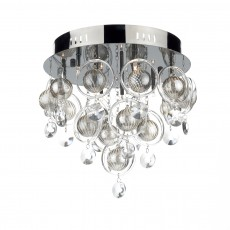 Dar  Cloud 9 Light Black Chrome Flush G4 Light