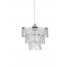 Dar  Cybil  Polished Chrome Crystal Non Elec