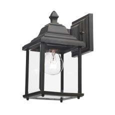 Dar  Doyle Wall Bracket Lantern Black Gold