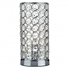 Dar  Frost Table Lamp Polished Chrome Touch Light