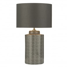 Dar Lighting Igor Table Lamp Grey Stingray Base Only