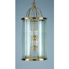 Impex Surrey Bevelled Glass Lantern