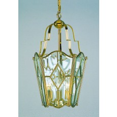 Impex Alicante Bound Glass Lantern