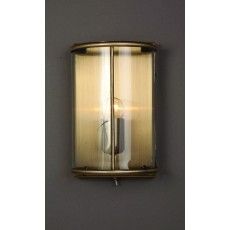 Impex Orly Wall Light Ant Brass