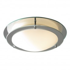 Dar  Libra Flush 2 Ring Mirror IP44