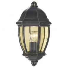 Dar  Newport Outdoor Flush Black Gold