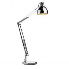 Dar Lighting Osaka Floor Lamp  Polished Chrome Complete
