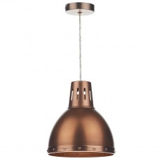 Dar  Osaka Antique Copper Non Elec Pendant Light