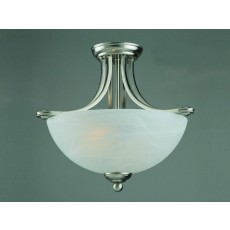 Impex Texas Pendant Light Sat Nick White Alabaster 16 Light