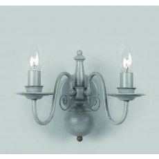 Impex Bologna Flemish Wall Light Grey