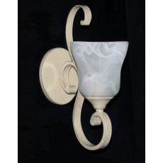 Impex Sylvie 1 Light Wall Light Cream