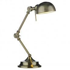 Dar  Ranger Table Lamp Antique Brass