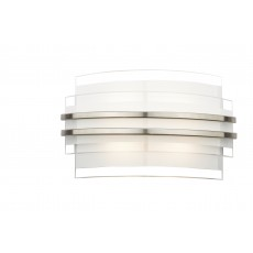 Dar  Sector Double Trim Led Wall Bracket Small