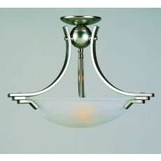 Impex Amora Sf Pendant Light Sat.Nick Alabaster Gl