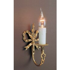 Impex Richmond 1 Light Wall Light Polished Brass 11