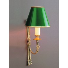 Impex Richmond 1 Light Wall Light Polished Brass 11A
