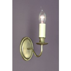 Impex Georgian 1 Light Wall Light Bronze