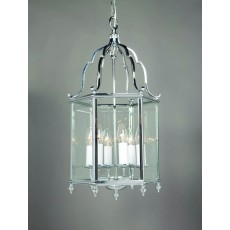 Impex Belgravia 6 Light Pendant Light Chrome