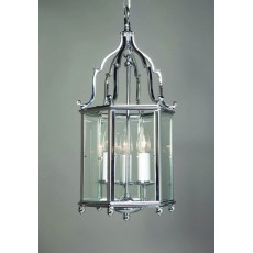 Impex Belgravia 3 Light Pendant Light Chrome