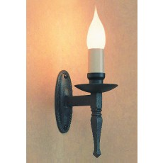 Impex Wentworth 1 Light Wall Light Gunmetal
