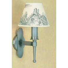 Impex Blenheim 1 Wall Light Light Sterling