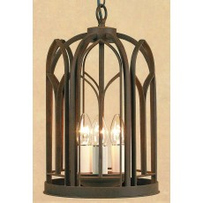 Impex Villa 3 Light Lantern Aged