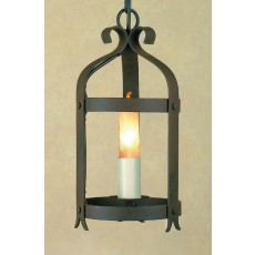 Impex Villa 1 Light Lantern Aged
