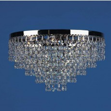 Impex Dortmund Nick.Plate Tier Flush Pendant Light