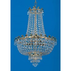Impex Munich Empire Strass Gold Pendant Light
