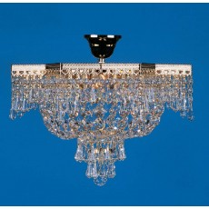Impex Star Flush Strass Pendant Light