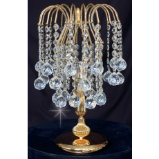 Impex Shower With Balls Tl Gold Table Lamp