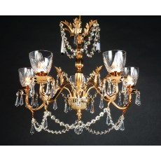 Impex Livorno Halogen Strass Pendant 5 Light G9