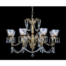 Impex Livorno Halogen Strass Pendant 8 Light G9